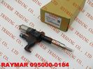 China Inyector común del carril de DENSO 095000-0180, 095000-0184 para NISSAN MD92 16650-Z6005 compañía