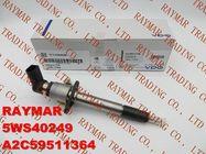 VDO Fuel injector A2C59511364, 5WS40249 for FORD 4H2Q-9K546-AF, LAND ROVER LR006495