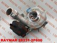 China Turbocompresor auténtico 53039700432 de BORGWARNER para HYUNDAI 28231-2F600 compañía