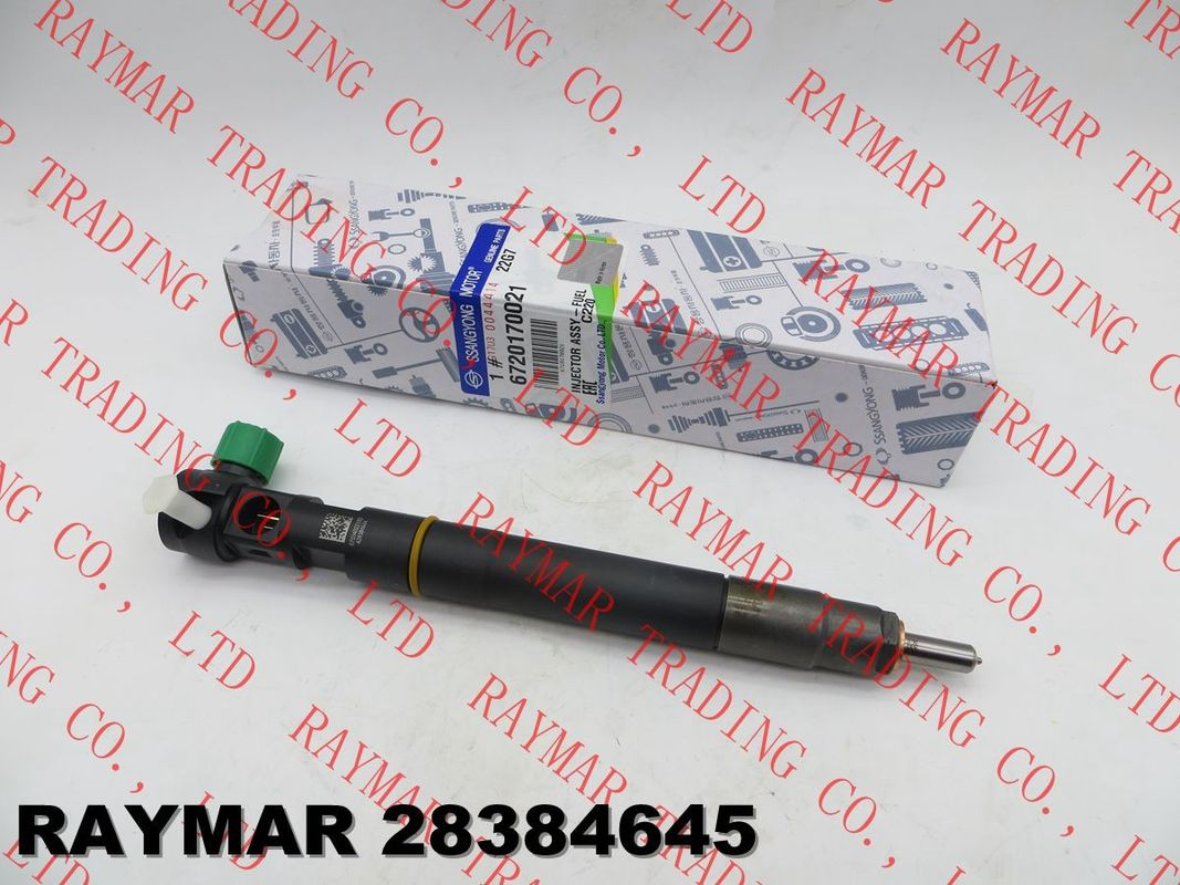 DELPHI  Genuine common rail fuel injector 28384645 for SSANGYONG D22 EURO 6 A6720170021, 6720170021